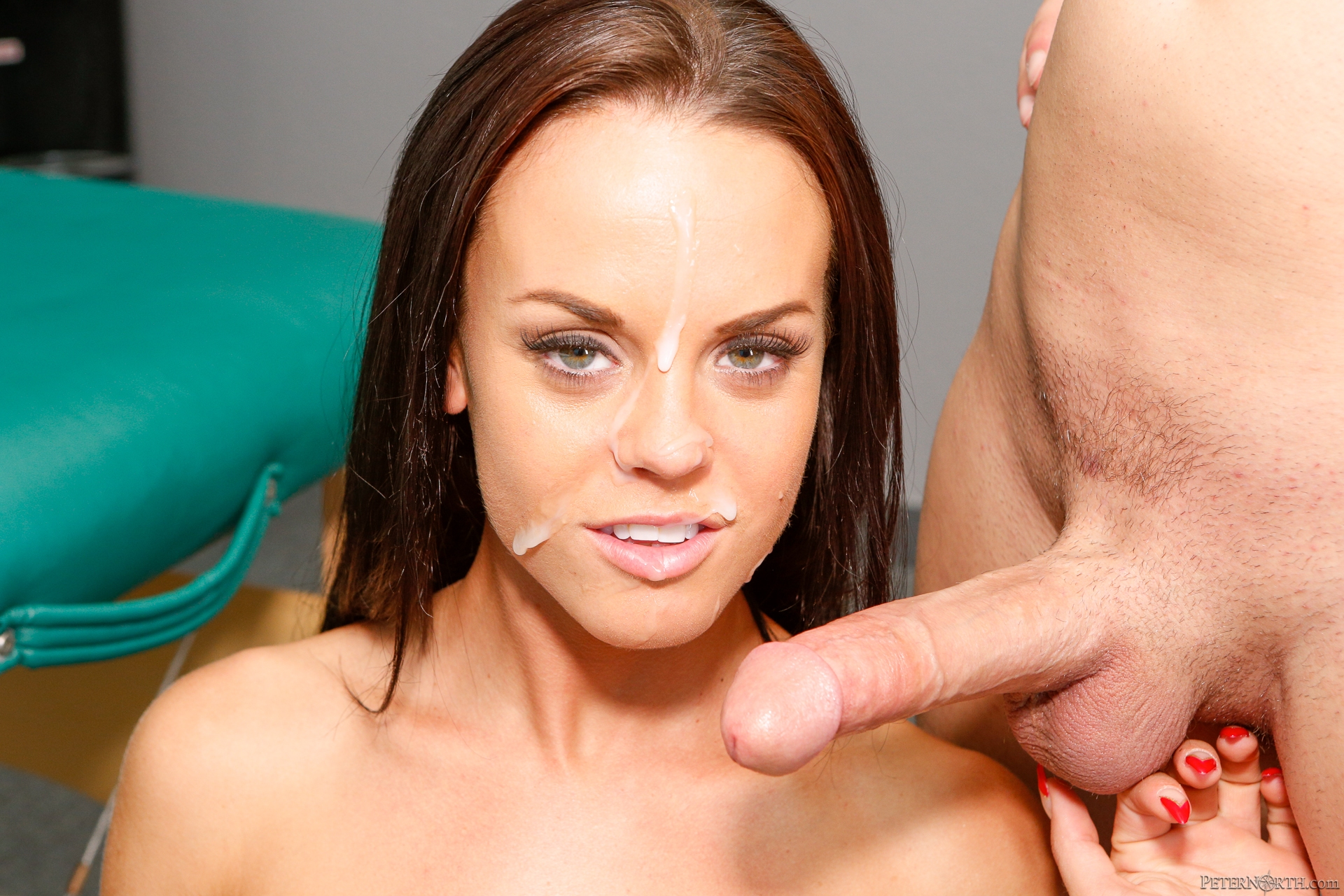 facial cumshot nina james escort